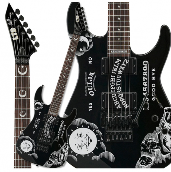 ESP KH-OUIJA Kirk Hammett Limited Edition Electric Guitar Features and . PlusPng.com  Kirk - Kirk Hammett PNG
