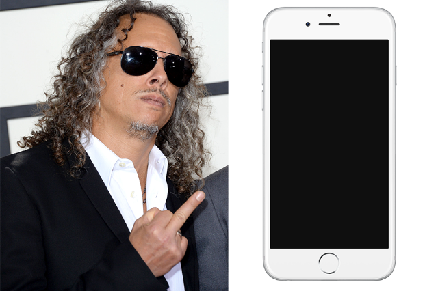 Metallicau0027s Kirk Hammett Lost an iPhone Containing 250 Guitar Riffs Meant  for New Album - Kirk Hammett PNG