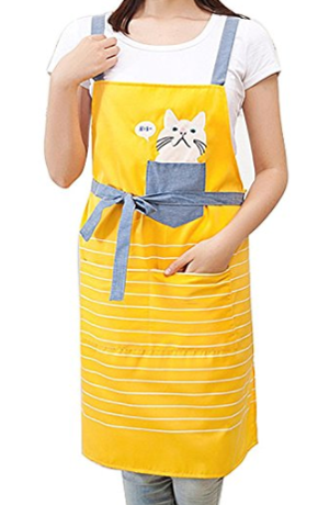 cat aprons - Kitchen Apron PNG