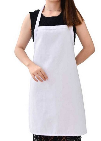 Customize this cotton blend apron with a company logo, quote, or monogram.  Perfect for every chef! This particular item is outsourced, so it can only  be PlusPng.com  - Kitchen Apron PNG