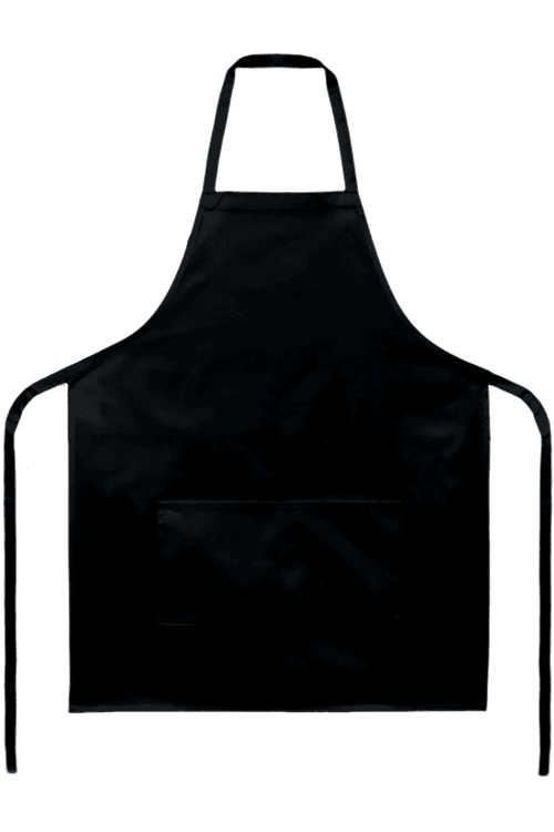 . PlusPng.com DA_1_Deluxe_Apron_Black__1478198402_980.png Red_200C__1478198417_440.png - Kitchen Apron PNG