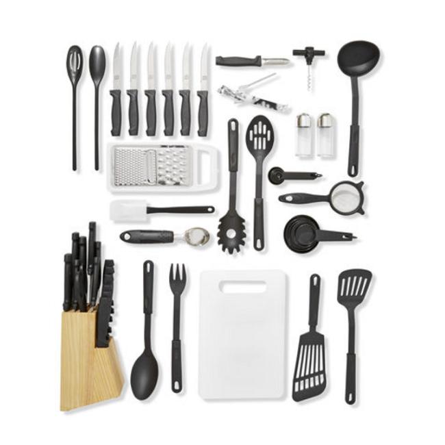 HOMEMAKER P_41326572 50-Piece Kitchen Gadget Set - Kitchen Gadget PNG
