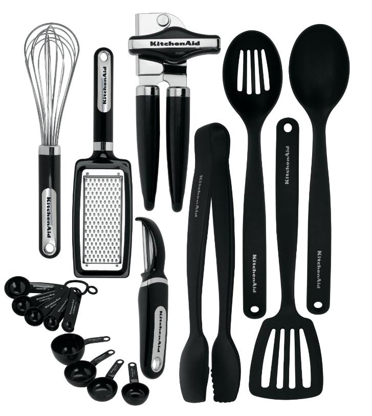 KitchenAid 17u2013piece Tool u0026 Gadget Set $36.49 (down from $59.99)   FREE  Shipping! - Kitchen Gadget PNG