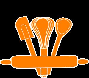 Kitchen Utensils Border Clipart - Kitchen Tools PNG