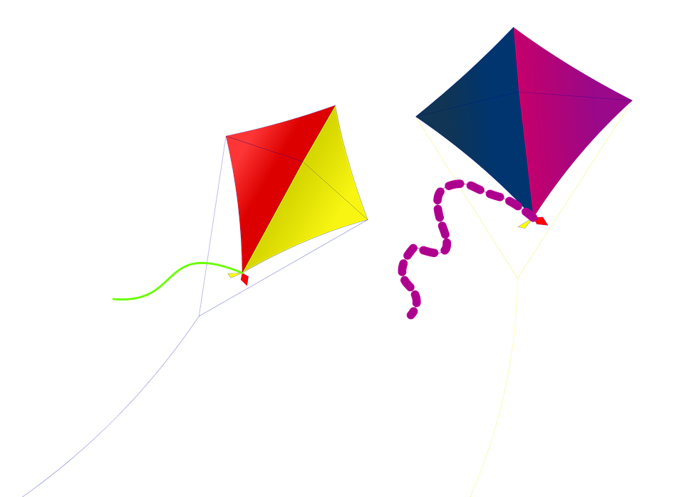 kite kites fun summer sky outdoor wind fly - Kite PNG HD Images