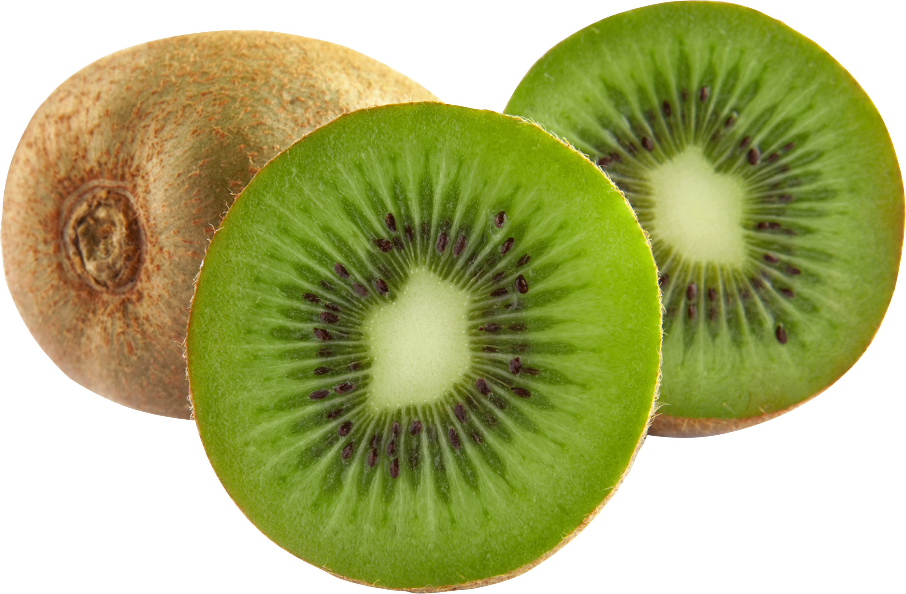 Green cutted kiwi PNG image - Kiwi PNG - Kiwi HD PNG