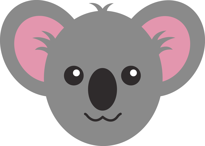 cartoon koala bear images - Bear Face PNG HD - Koala PNG HD