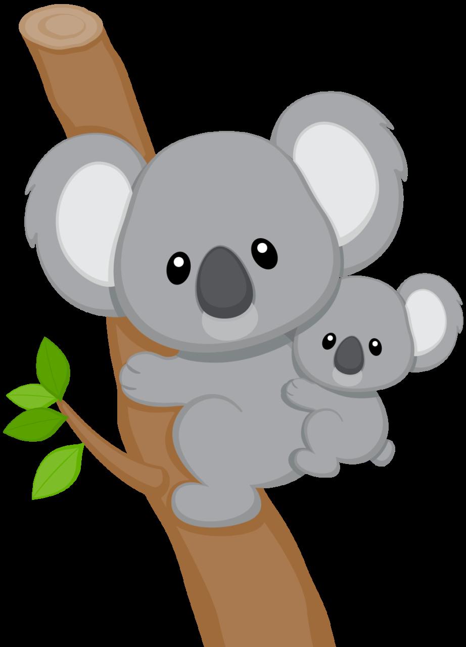 Cutting files - Baby Koala PNG - Koala PNG HD