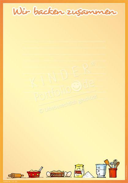 Kochen Und Backen PNG Rahmen - 80068
