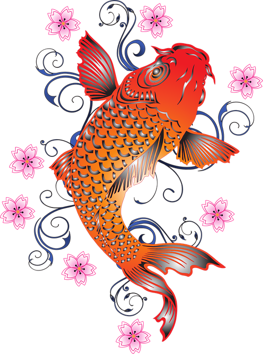 Koi Fish PNG HD - 127779