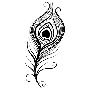 Krishna Flute PNG Black And White - 43737