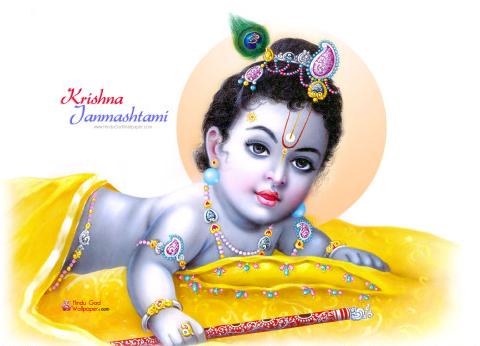 Happy Krishna Janmashtami Facebook Whatsapp Pics Photos DP Status Quotes  Messages PlusPng.com  - Krishna Janmashtami PNG