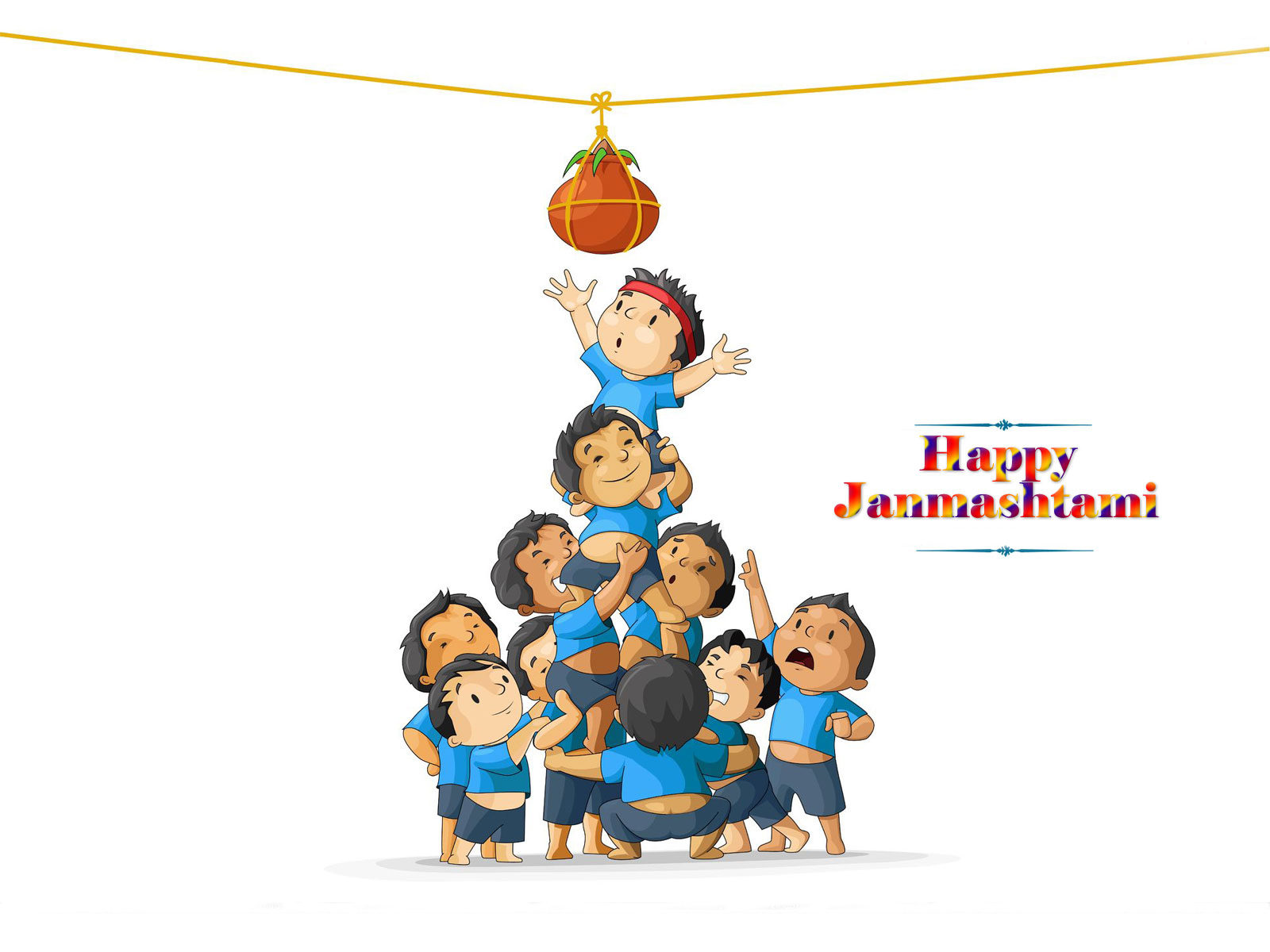 Happy Krishna Janmashtami Status Messages SMS Quotes Poem Wishes in Marathi  u0026 Urdu - Krishna Janmashtami PNG