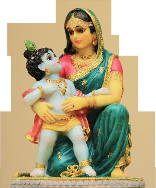 krishna-yasoda-janmashtami-2015-gift - Krishna Janmashtami PNG