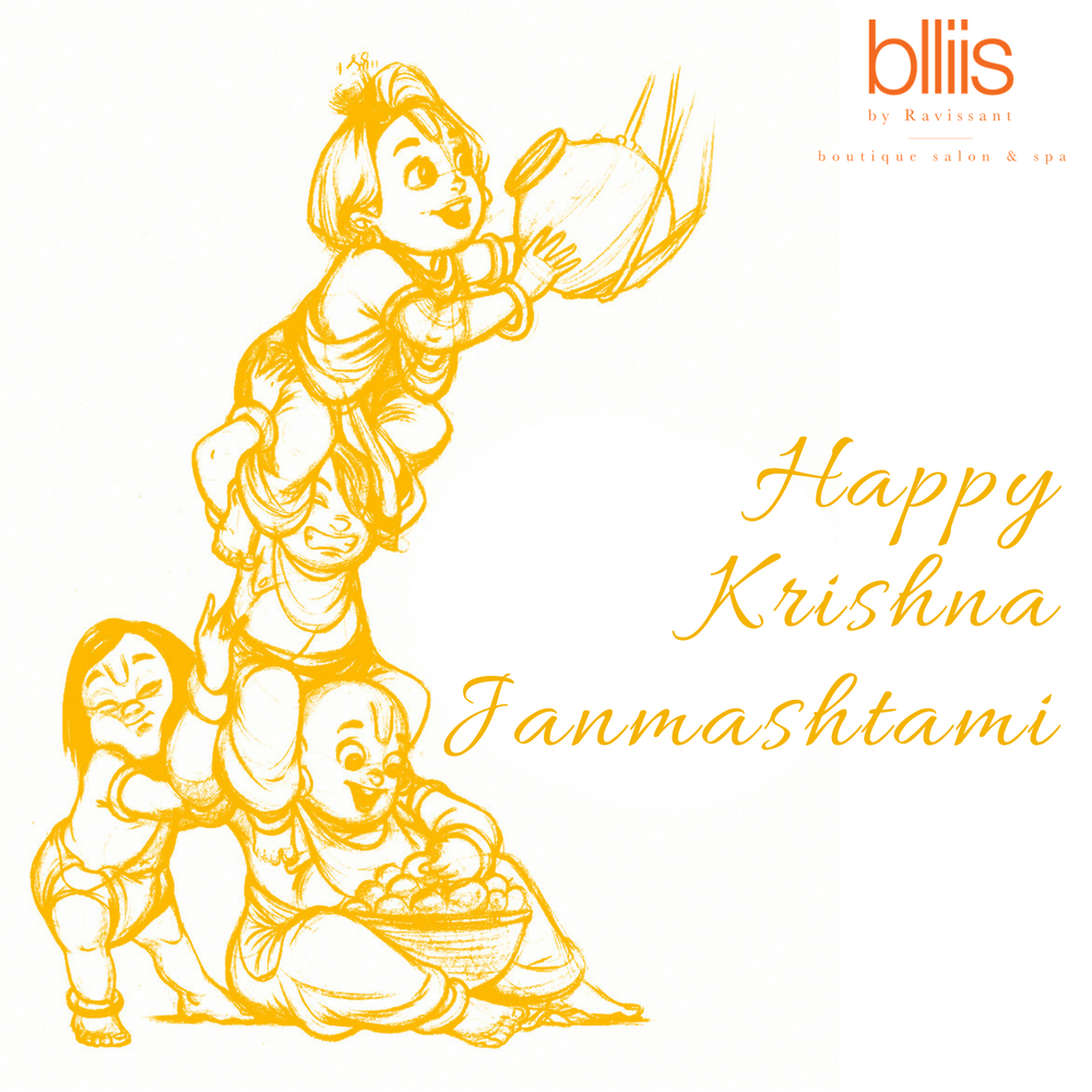 This #Krishna #Janmashtami we wish all the luck, blessings and happiness  for you and your family. #Happy #Janmashtami from team #Blliis | Pinterest - Krishna Janmashtami PNG