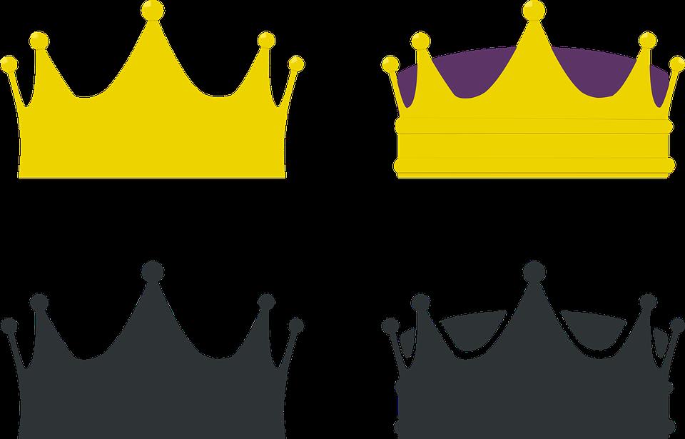 Krone, König, Königin, Kronen - Krone Konigin PNG