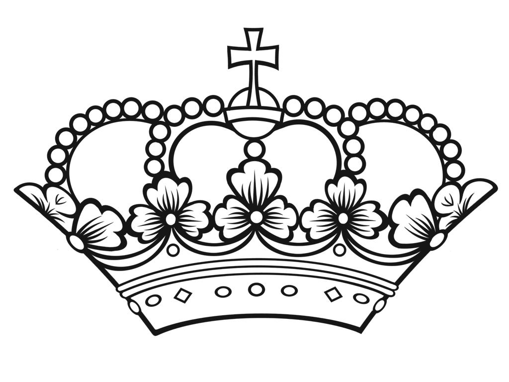 Krone PNG Schwarz - 68460