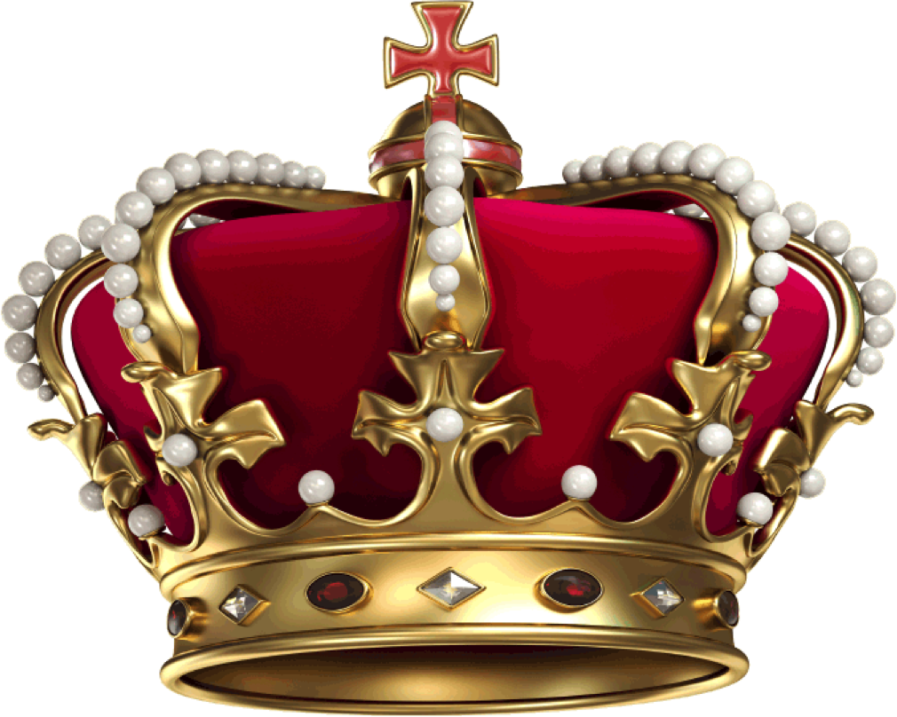Content is King - Krone PNG Transparent