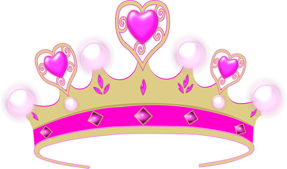Krone Prinzessin PNG