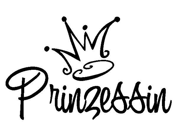Wandtattoo Prinzessin Krone - Krone Prinzessin PNG