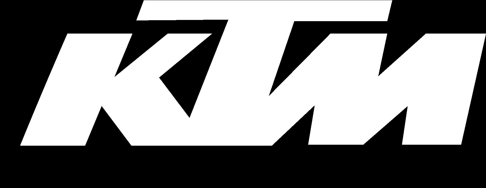 Download Ktm Racing Logo Black And White - Ktm Logo Png White Pluspng.com  - Ktm Racing Logo PNG