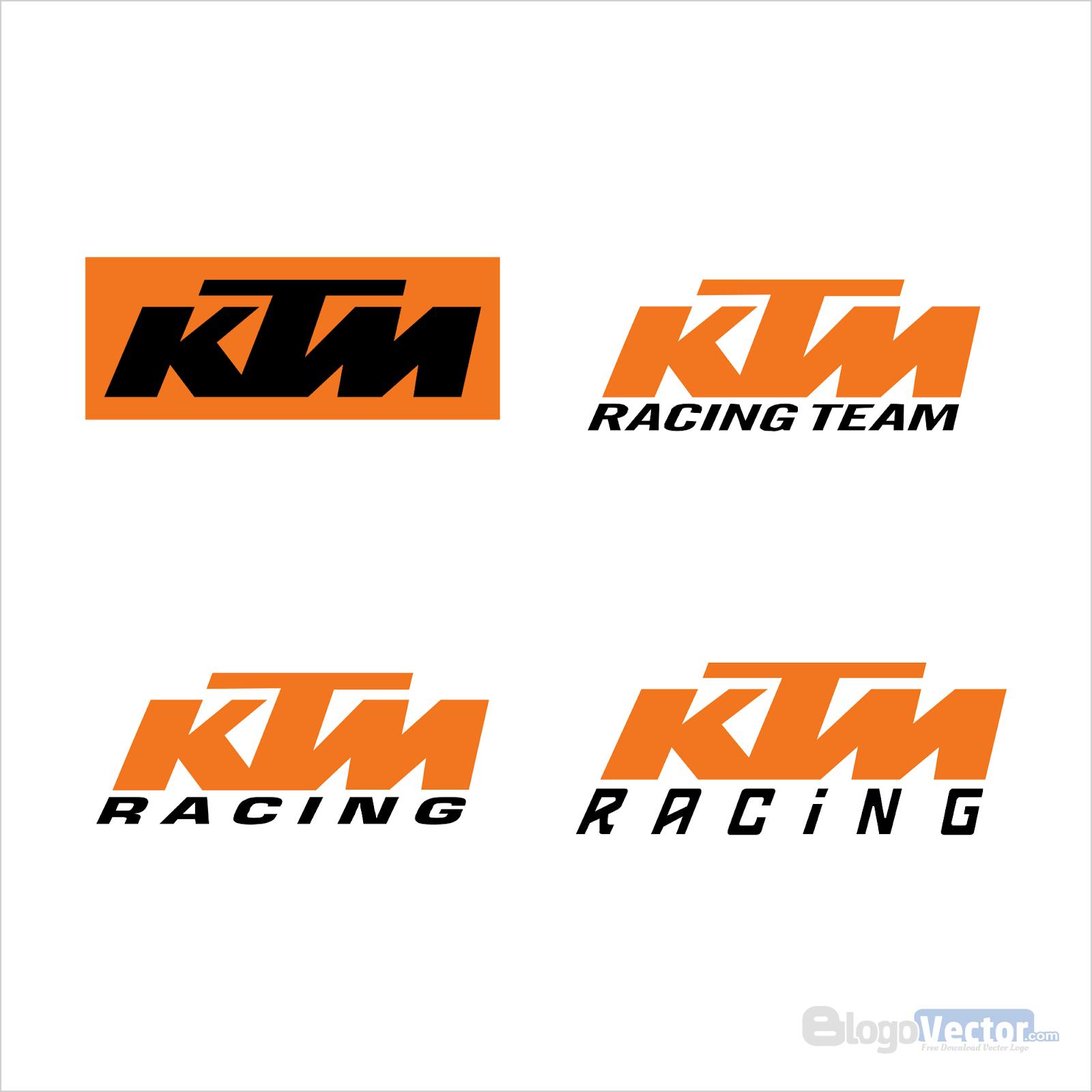 Ktm Racing Logo Vector (.cdr) - Blogovector - Ktm Racing Logo PNG