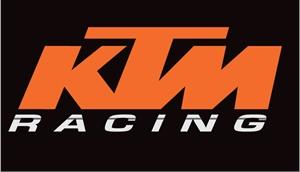 Ktm Racing With Stripe Logo Vector (.eps) Free Download - Ktm Racing Logo PNG