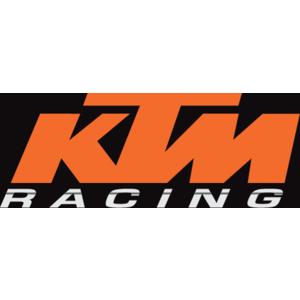 Ktm Racing With Stripe Logo,