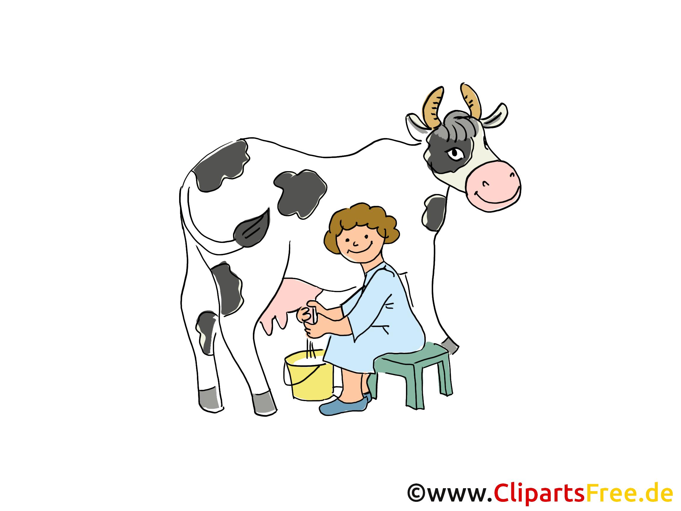 Kuh Melken PNG
