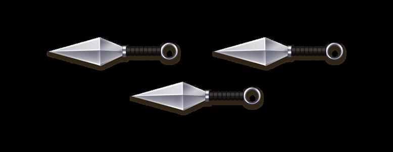Kunai PNG - 45989
