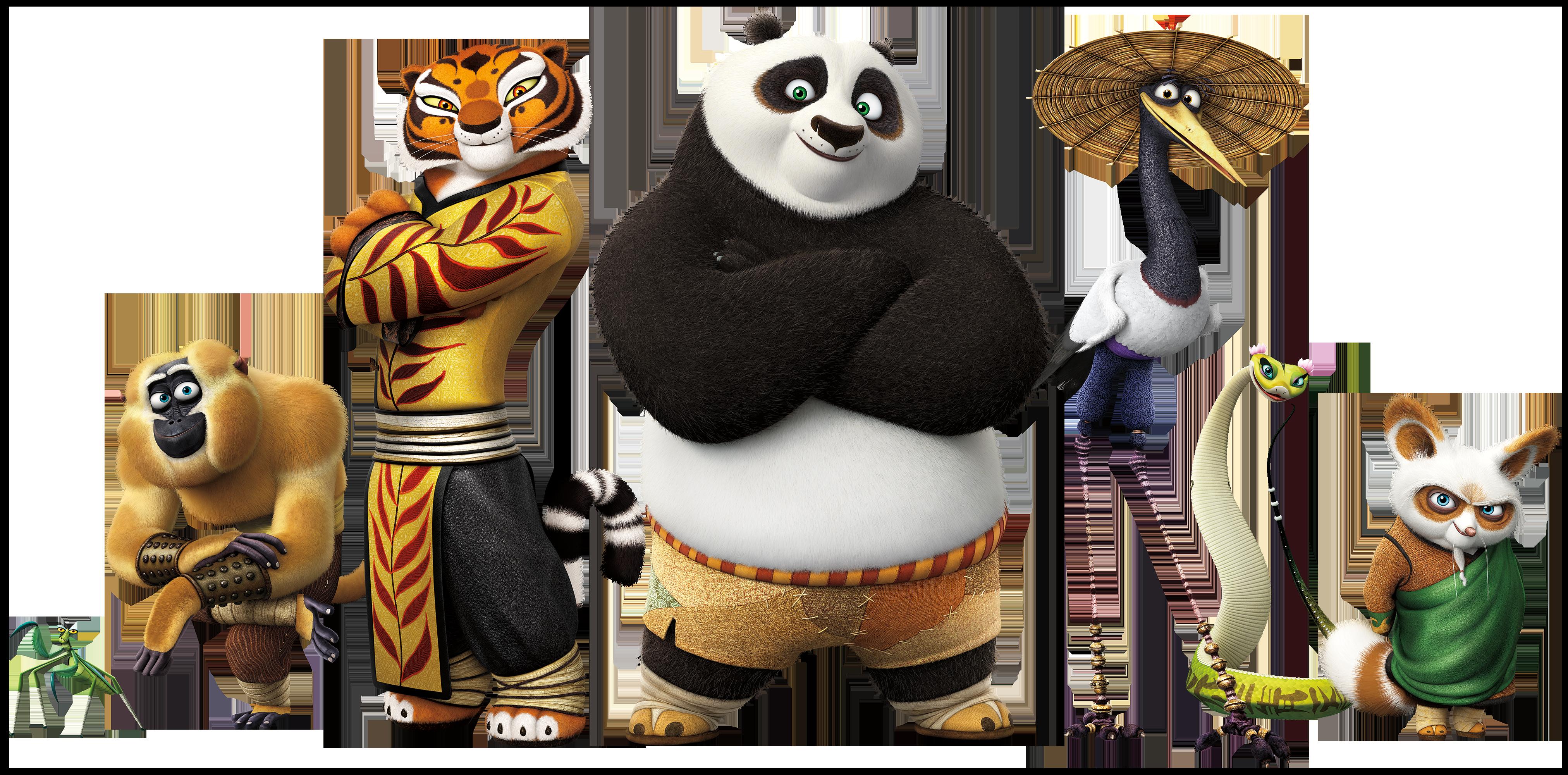 Kung Fu Panda PNG-PlusPNG.com-4048 - Kung Fu Panda PNG