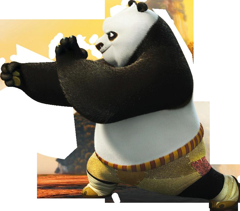 Kung Fu Panda PNG - 12903