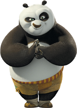 File:Po from DreamWorks Animationu0027s Kung Fu Panda.png - Kung Fu Panda PNG