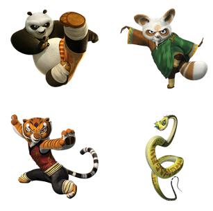 Kung Fu Panda PNG Icon 256x256px - Kung Fu Panda PNG HD