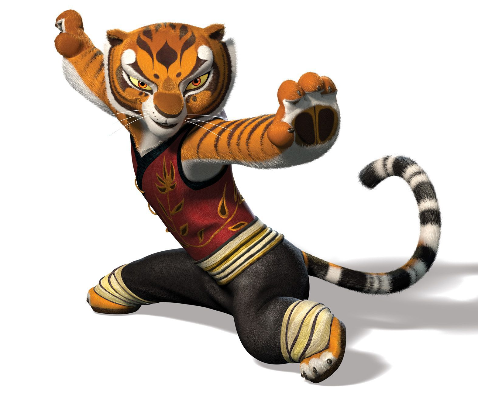 Tigress2.jpg - Kung Fu Panda PNG HD