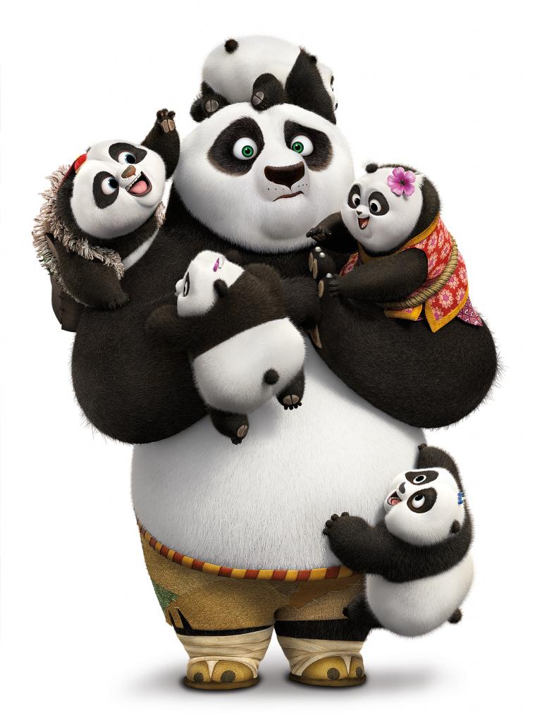 KUNG FU PANDA 3 Baby Pandas - Kung Fu Panda PNG