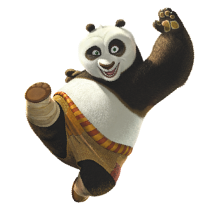 kung fu Panda PNG