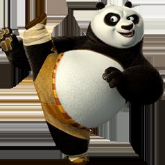 Kung-fu-panda-world-po.png - Kung Fu Panda PNG