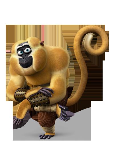 Monkey kung fu panda 3.png - Kung Fu Panda PNG