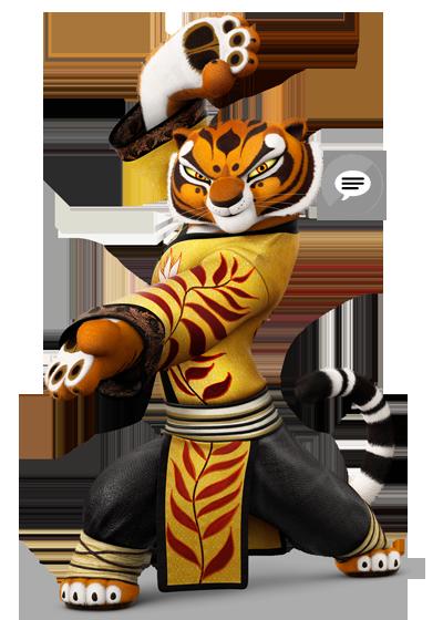 Tigress kung fu panda 3.png - Kung Fu Panda PNG