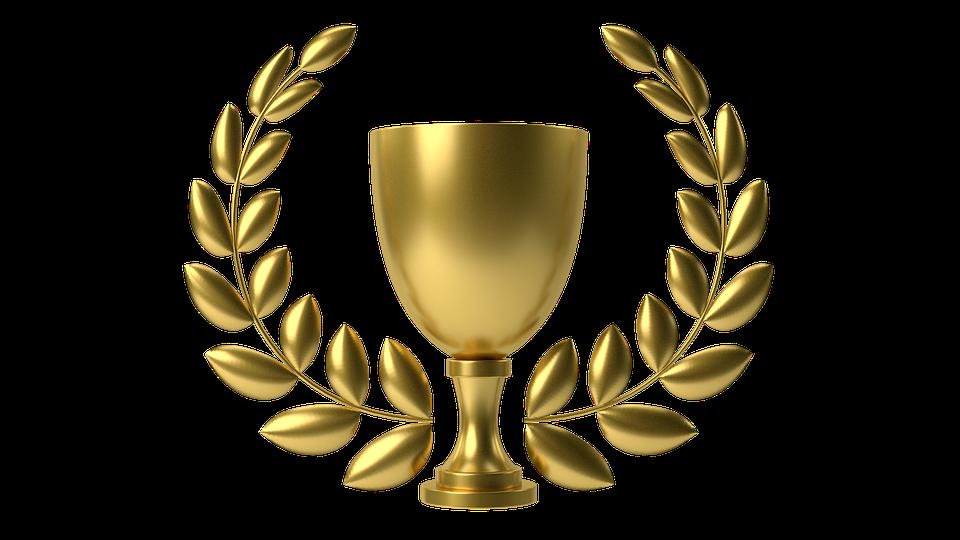 Altın Kupa, Çanak, Çelenk - Kupa PNG