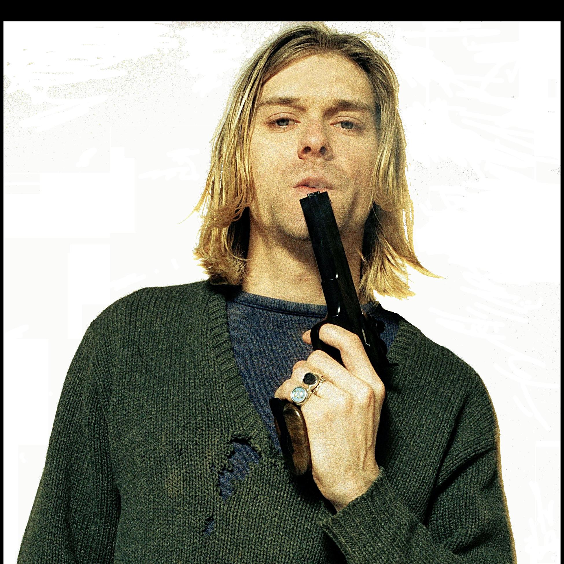 Kurt Cobain PNG-PlusPNG.com-1950 - Kurt Cobain PNG