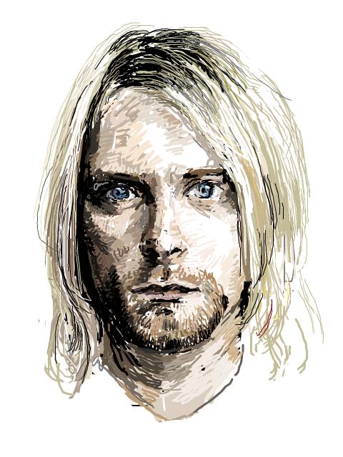 Kurt Cobain PNG - 88247