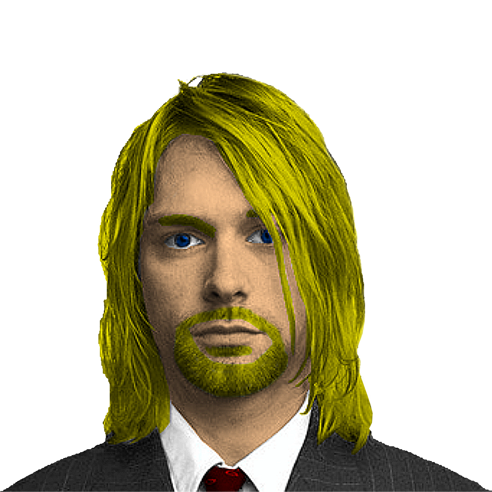 Kurt Cobain Normal by dannythemartian Kurt Cobain Normal by dannythemartian - Kurt Cobain PNG