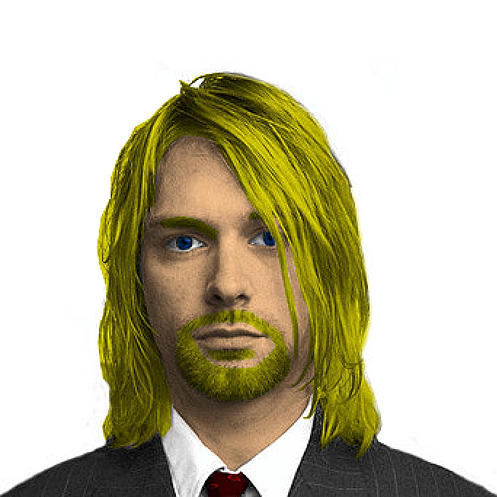 Kurt Cobain PNG - 88252