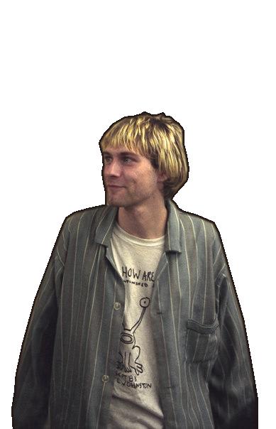 Kurt Cobain Png by yaprina PlusPng.com  - Kurt Cobain PNG