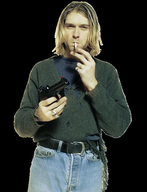 #kurt cobain #png #transparent #nirvana - Kurt Cobain PNG