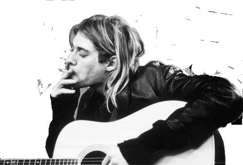 Kurt Cobain PNG - 88251