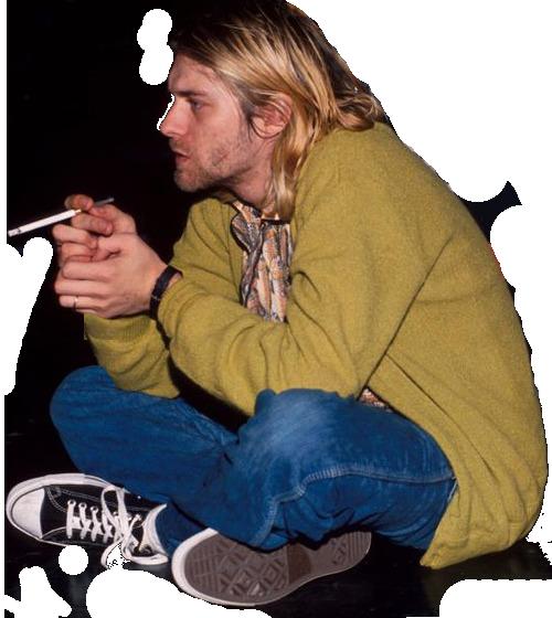 Kurt Cobain PNG - 88244