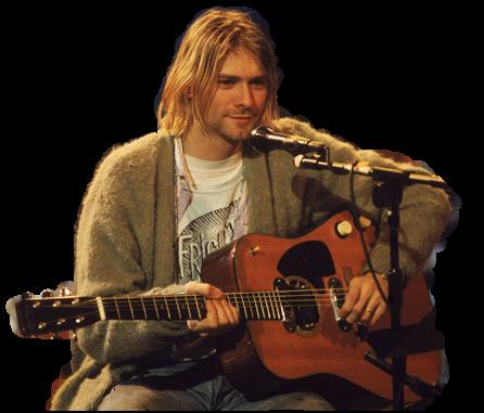 png kurt cobain by arianalamt PlusPng.com  - Kurt Cobain PNG